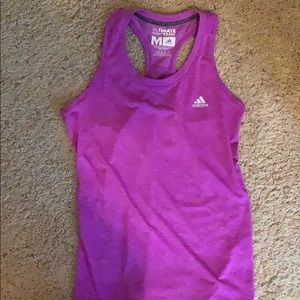 "Purple adidas ""ultimate tank"""